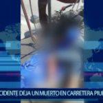 Piura: Joven mototaxista fallece en accidente de tránsito