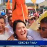 Piura: Keiko visitó la Perla del Chira