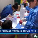 Lanzan campaña contra la anemia en La Libertad
