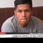 Laureano espera no más errores