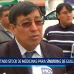 Limitado stock de medicinas para síndrome de Guillain Barré