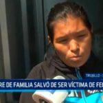 Madre de familia salvó de ser víctima de feminicidio