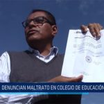 Chiclayo: Denuncian maltrato en colegio de educación especial