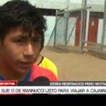 Sub 13 de Mannucci listo para viajar a Cajamarca