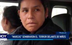 """Trujillo: """"Marcas"""" sembraron el terror delante de niños"""