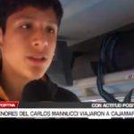 Menores del Carlos Mannucci viajaron a Cajamarca