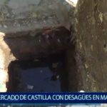 Piura: Mercado de Castilla con desagües en mal estado