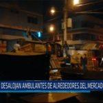 Chiclayo: Desalojan ambulantes de alrededores del mercado Modelo
