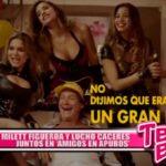 Cine: Milett Figueroa y Lucho Cáceres juntos en 'Amigos en Apuros'