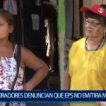 Piura: Moradores octubrinos denuncian a Eps Grau