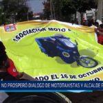 Chiclayo: No prospero dialogó de mototaxistas y alcalde provincial