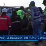 Tres muertos en accidente de tránsito en Laredo