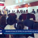 Chimbote: Crearán Oficinas de Control en cada Provincia de Áncash
