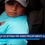 Pareja fue detenida por vender presuntamente autopartes