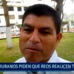 Piura: Piuranos exigen trabajos rigurosos para los reos en el Perú