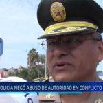 Chiclayo: Policía negó abuso de autoridad en conflicto de Olmos