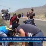 Chiclayo: Se realiza jornada de limpieza en Bosque de Pomac