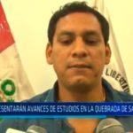 Presentarán avances de estudios en la quebrada de San Ildefonso