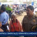 Piura: Diferentes puntos estratégicos y Centros Comerciales serán resguardados por la Policía