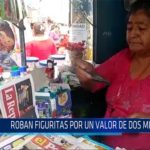 Chiclayo: Roban figuritas por un valor de dos mil soles