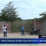 Piura: Frustran robo en Depósito Municipal