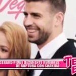 Gerard Piqué desmiente rumores de ruptura con Shakira
