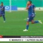 Carlos A. Mannucci venció 2 -1 al Alfredo Salinas