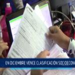 Chimbote: En diciembre vence clasificación socioeconómica