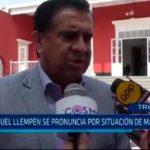 Manuel Llempén se pronuncia por situación de Marcelo
