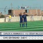 Sub 17: César Vallejo venció 4 – 2 a Carlos A. Mannucci
