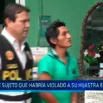 Trujillo: Cae sujeto que habría violado a su hijastra en Laredo