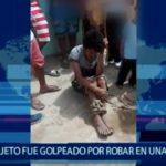 Piura: Sujeto fue golpeado por robar en una vivienda