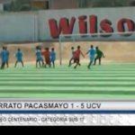 Categoría Sub 17: UCV venció por 5 – 1 a Serrato Pacasmayo