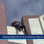 Chiclayo: Trabajadores ediles de JLO radicalizan su huelga