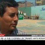 Willy Serrato: La categoría Sub 13 espera un triunfo ante Rosario