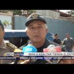 """Trujillo: Detienen a 7 """"marcas"""" armados que iban a asaltar tienda"""