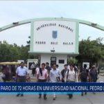 Chiclayo: Paro de 72 horas en Universidad Nacional Pedro Ruiz Gallo