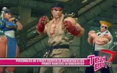Personajes de Street Fighter se enfrentan a los Power Rangers en videojuego