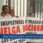 Chiclayo : Inspectores de SUNAFIL acatan huelga nacional
