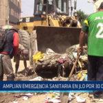 Chiclayo ; Amplían emergencia sanitaria en JLO por 30 días más