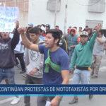 Chiclayo : Continúan protestas de mototaxis por ordenanza