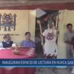 Chiclayo : Inauguran espacio de lectura en Huaca Santa Rosa