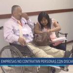 Chiclayo : Empresas no contratan personas con discapacidad