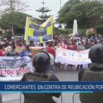 Chiclayo : Comerciantes en contra de reubicación por obras