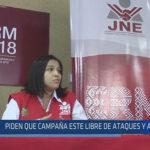 Chiclayo : Piden que campaña este libre de ataques y agravios