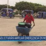 Chiclayo : Solicitarán ampliar emergencia en Mórrope