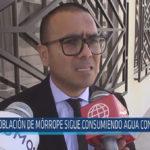 Chiclayo : Población de Mórrope sigue consumiendo agua contaminada