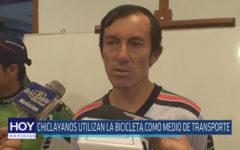 Chiclayo : Chiclayanos utilizan la bicicleta como medio de transporte