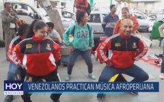 Chiclayo: Venezolanos practican música afroperuana