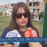 Chiclayo : Fiscalía apela fallo que libra a Oviedo de caso Tumán